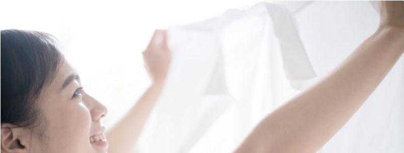 Come igienizzare il bucato grazie all'ozono