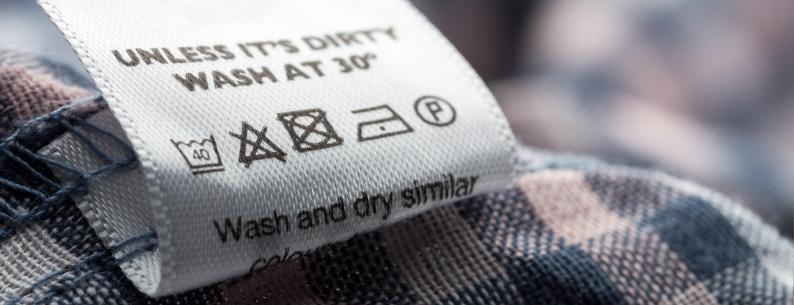Simboli lavaggio,come leggere le etichette dei vestiti per il lavaggio