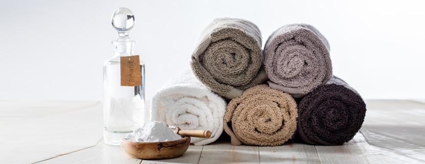 Bicarbonato e aceto nel tuo lavaggio della lavatrice
