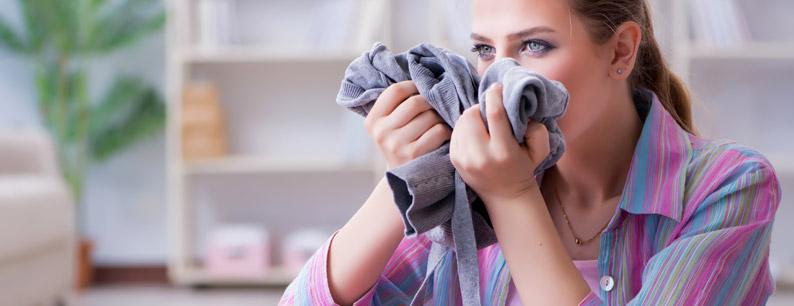 cattivo odore dalla lavatrice