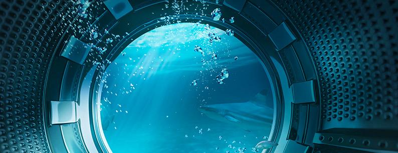 Risparmiare acqua nei lavaggi in lavatrice