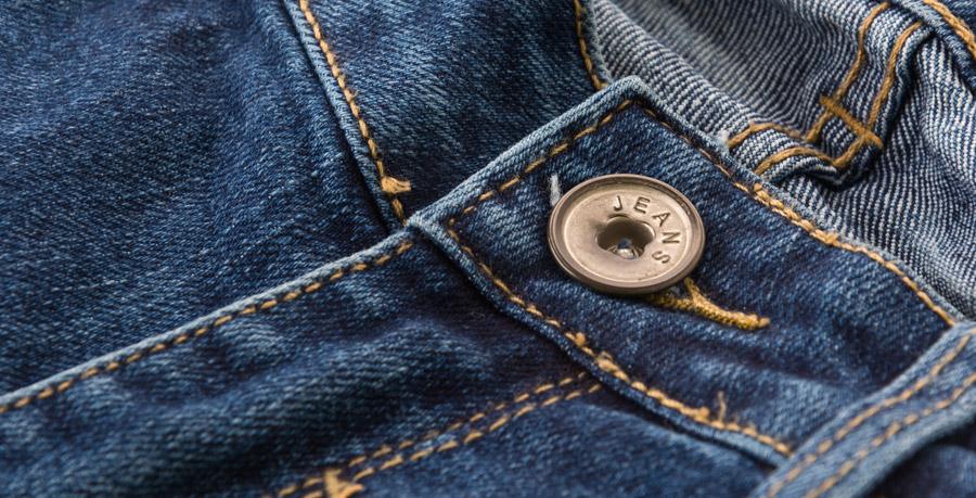 lavaggio dei jeans in lavatrice