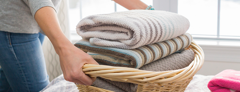 ozono per sanificare il bucato in lavatrice