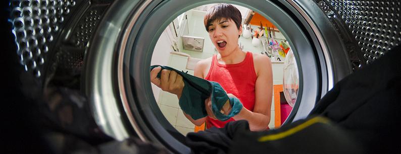 Il cattivo odore dei panni in lavatrice