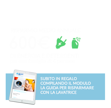 offerta ozonizzatore domestico per lavatrice per un guadagno di 600 euro all'anno