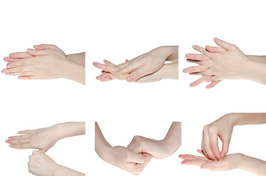 come lavarsi le mani