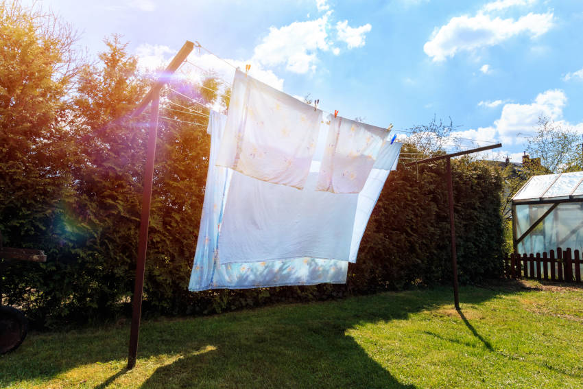 lavaggio lenzuola e pigiami