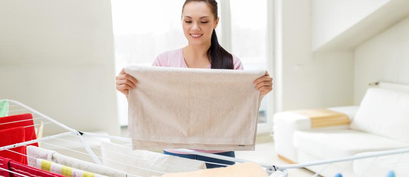 stendere il bucato in casa