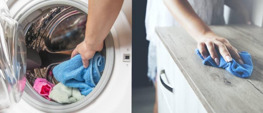 l'acqua ozonizzata per pulire mobili e indumenti