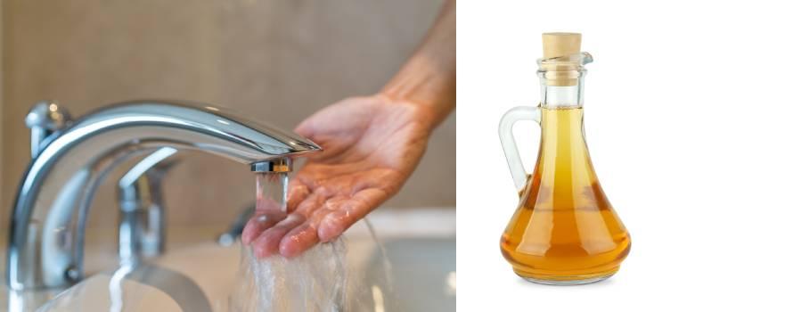 pulire le zanzariere con acqua e aceto