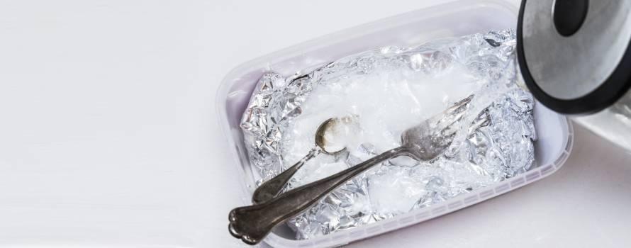 bicarbonato di sodio per il vostro argento