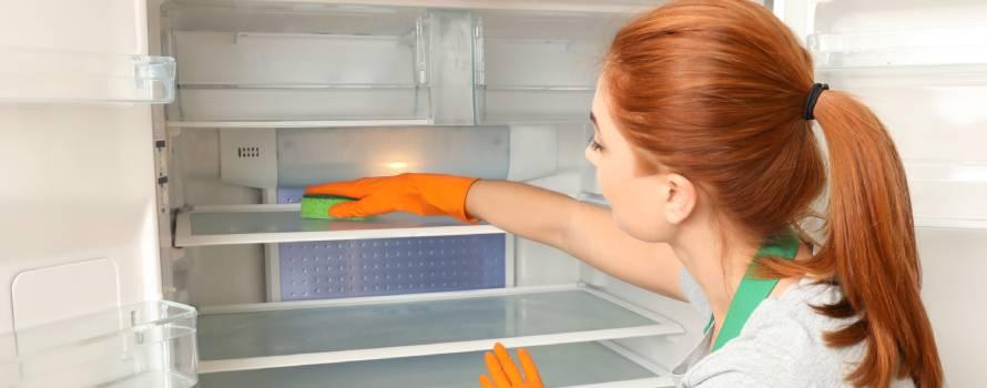 la pulizia del frigorifero