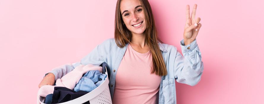 i vantaggi dell'ozono sul bucato normale della lavatrice