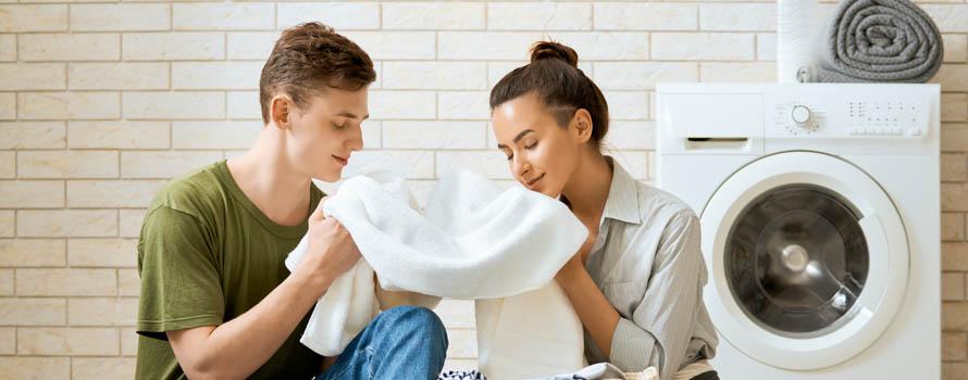 come disinfettare la lavatrice-odori