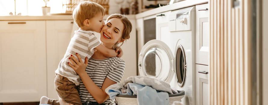 lavare i capi bianchi