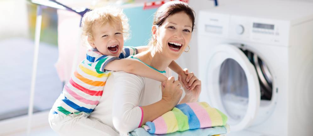 il lavaggio senza detersivi con Igenial