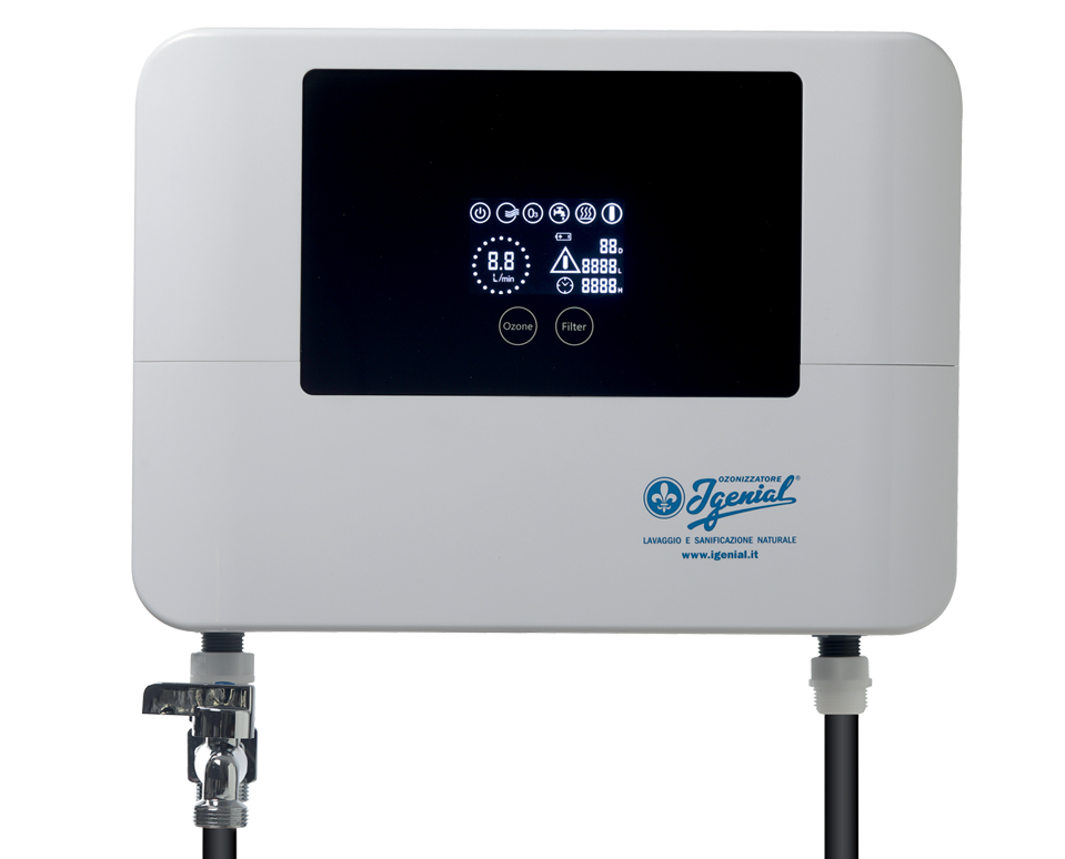 ozonizzatore per lavatrice igenial