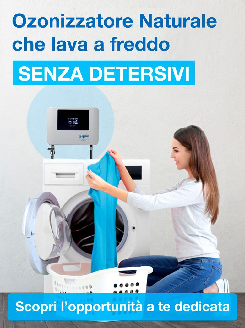 ozonizzatore acqua per lavatrice